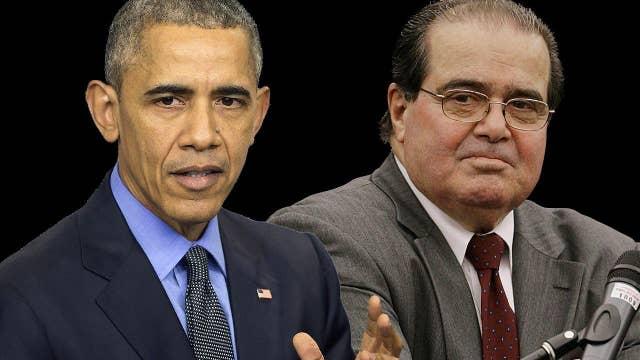 Greta: Why isn't Pres. Obama attending Scalia's funeral?