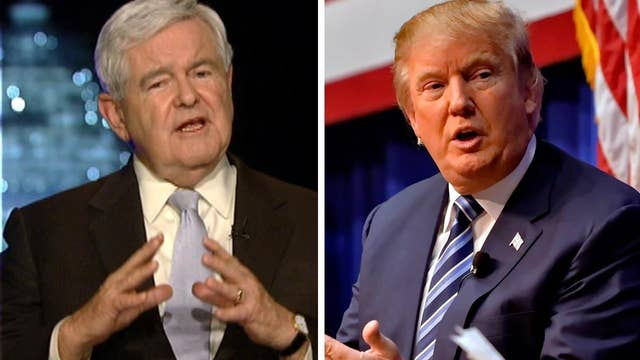 Gingrich: Trump would face trouble in one-on-one race