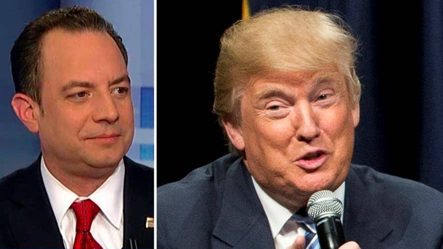 Reince Priebus responds to GOP candidate's comments