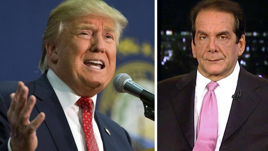 Krauthammer says Anti-Trump Voters Need to Consolidate Behind Another Candidate