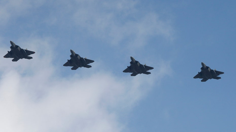 US warplanes fly over South Korea in show of solidarity