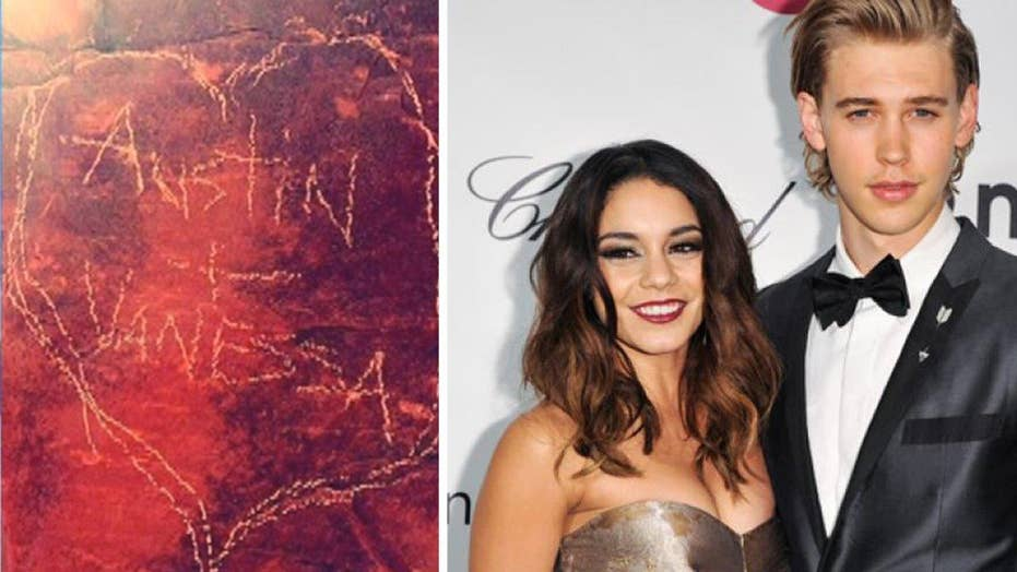 Hudgens probed for allegedly defacing Arizona red rocks