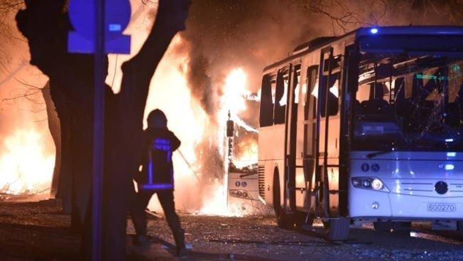Deadly explosion rocks Turkey's capital