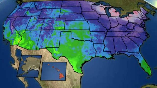 National forecast for Thursday, February 18