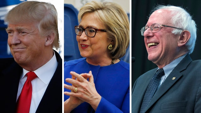How the ages of 2016 candidates compare to past presidents