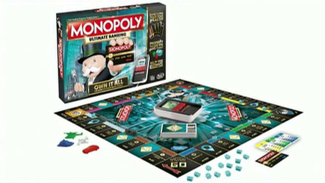 Monopoly goes cashless in new version of classic game