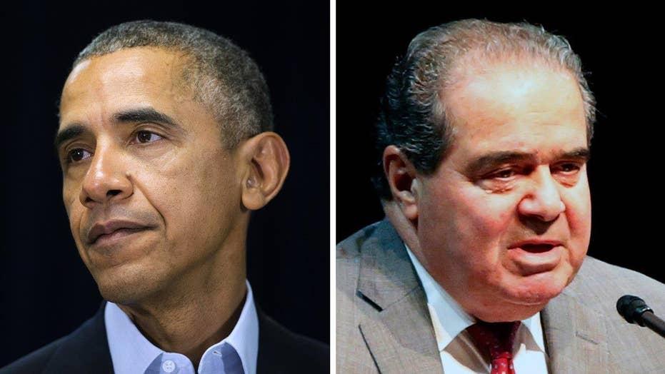 President Obama to skip Justice Scalia's funeral