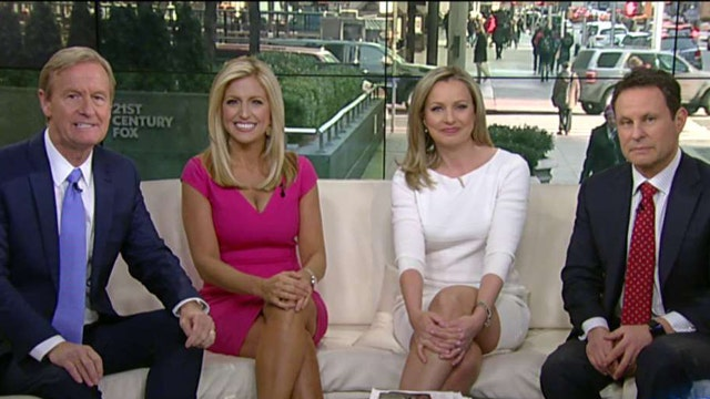 Welcoming Ainsley Earhardt to the 'Fox & Friends' team