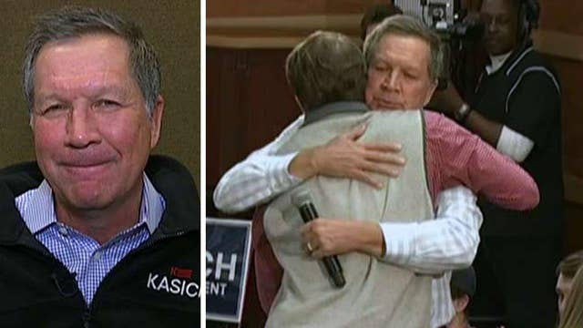 John Kasich describes a heartwarming moment with a supporter