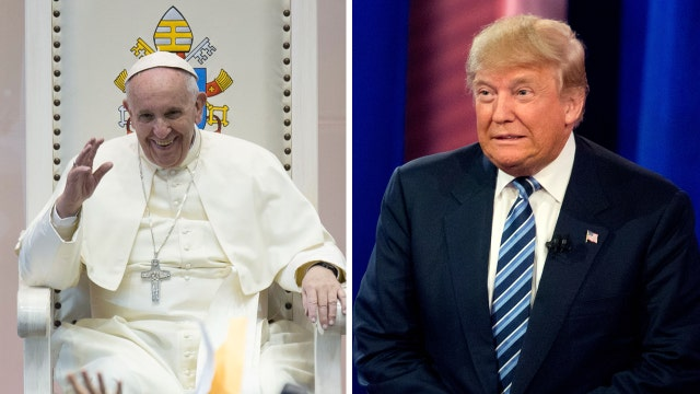 Donald Trump softens his tone after feud with Pope Francis