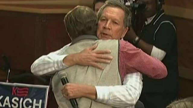 Man hugged by Kasich on the campaign trail speaks out