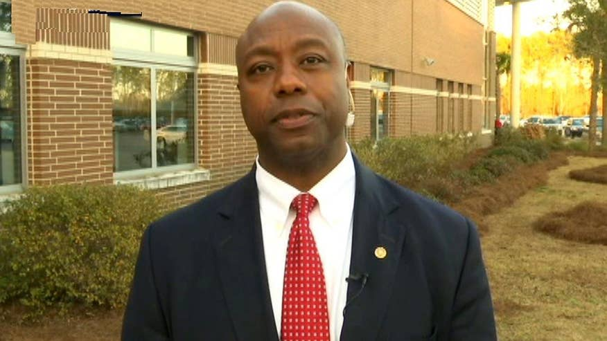 Greta takes 'On the Record' behind the scenes of the Marco Rubio campaign with one of his strongest supporters, SC Sen. Tim Scott