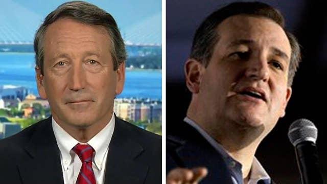 Cruz receives last-minute endorsement from Rep. Mark Sanford