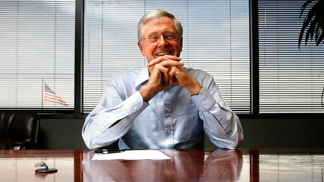 Billionaire Charles Koch agrees with Bernie Sanders