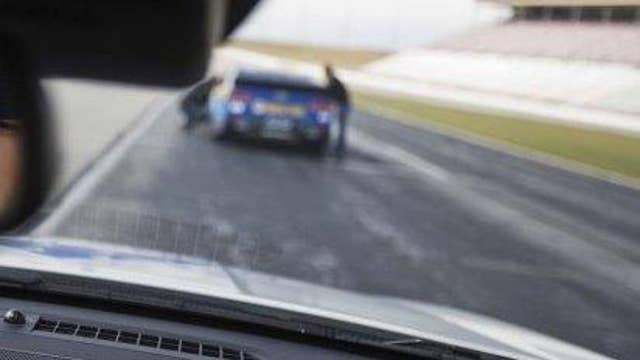 View the Daytona 500 from an official pace car