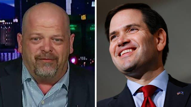 Pawn Star Rick Harrison stands by Rubio
