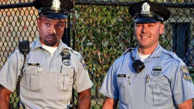 Philadelphia police offer Kanye a job