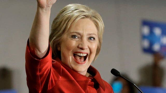 Gutfeld: Hillary off and running with Bernie's shtick
