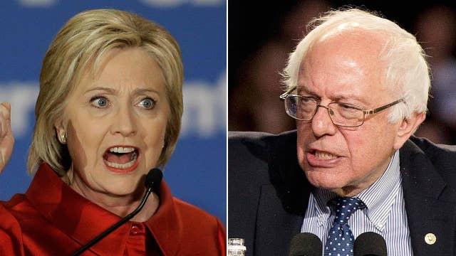 Report: Clinton has huge lead over Sanders in delegate count