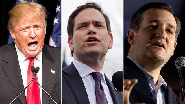 Trump, Rubio, Cruz campaigning ahead of Nevada caucuses