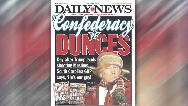 From denial to anger? Media's tone against Trump shifts