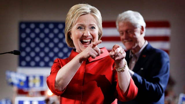 Media overplaying Clinton's win in Nevada?