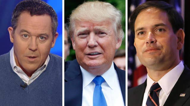Gutfeld: 'Bad boy' Trump vs. 'safe date' Rubio