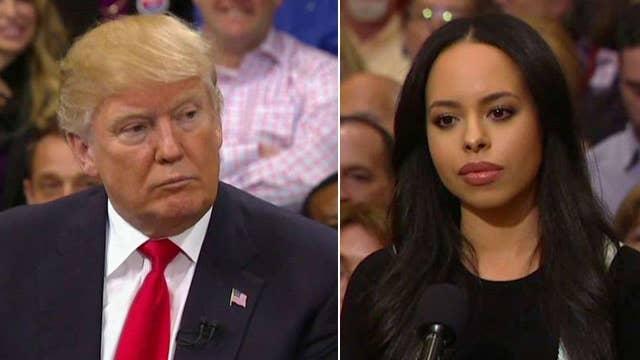 Las Vegas voters ask Donald Trump questions