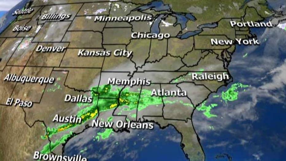 National forecast for Monday, February 22
