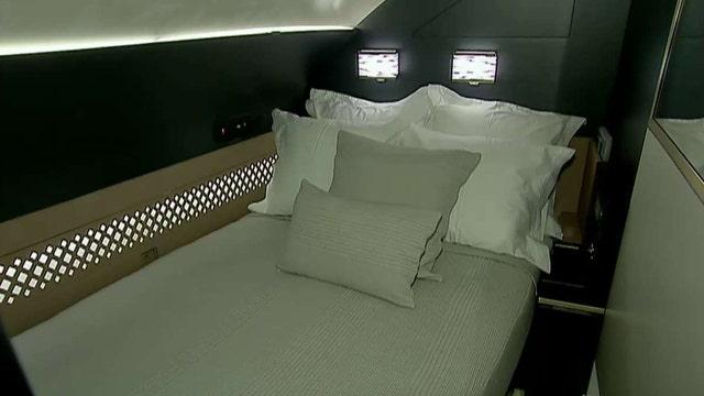 Inside the Etihad Airways A380