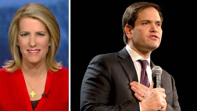 Ingraham: People want Rubio to be 'the man' against Trump