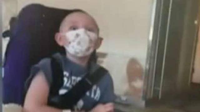 Turning to 'stone': 10-year-old battles stiff skin syndrome