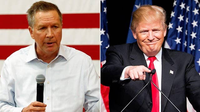 Poll: Kasich trails Trump in Ohio ahead of primary