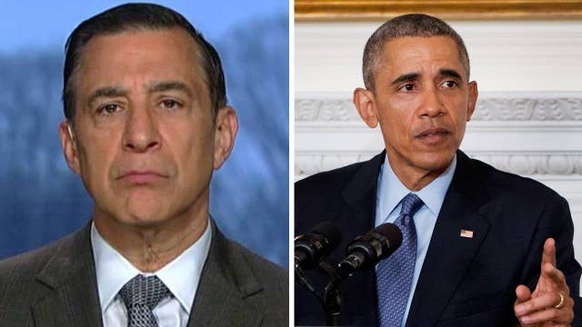 Issa: Obama 'doesn't respect the law of the Constitution'
