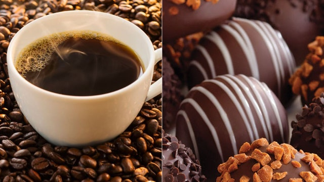 Chocoholics rejoice! Chocolate, coffee good for you?