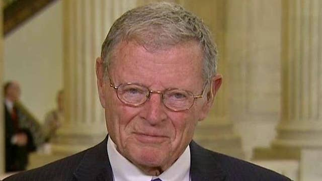 Inhofe on Gitmo plan: Obama hasn't worked with us in 7 years