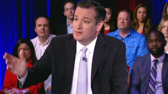 Ted Cruz talks women in combat, abortion and Hispanic voters