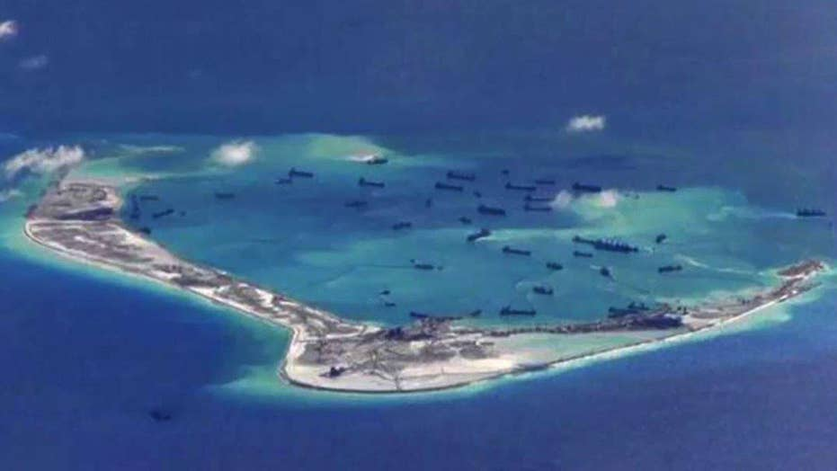 US Navy: China is clearly militarizing the South China Sea