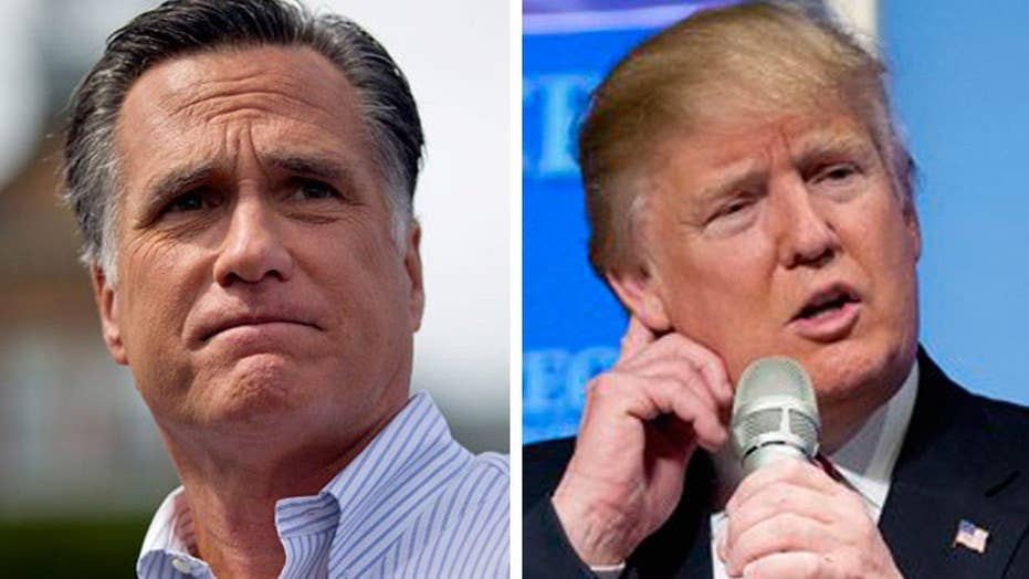 Mitt Romney on possible 'bombshell' in Trump's tax returns