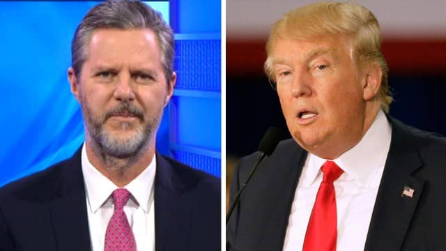 Jerry Falwell Jr on Trump's evangelical appeal