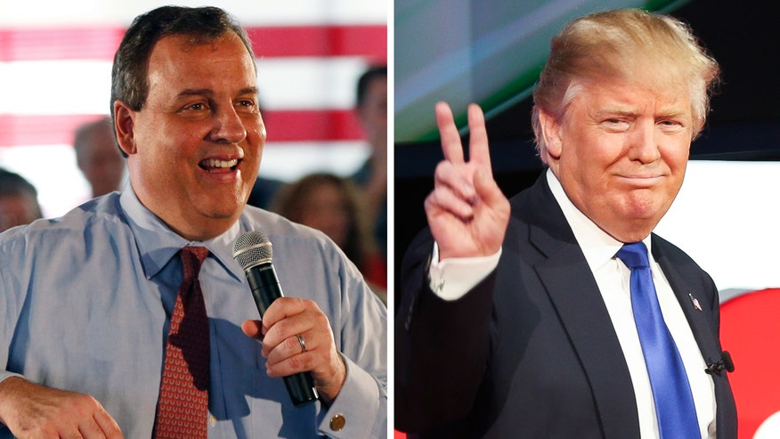New Jersey governor and former presidential candidate throws his weight behind the Republican frontrunner