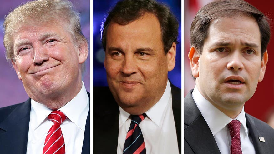Donald Trump snuffs Marco Rubio's post-debate momentum and steals back headlines with blockbuster endorsement from Gov. Chris Christie - and the attacks between the two rivals escalate. The 'On the Record' panel breaks it down