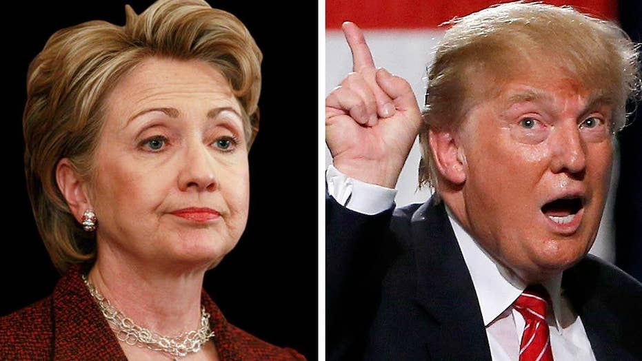 Should Clinton be worried about Trump becoming the nominee?