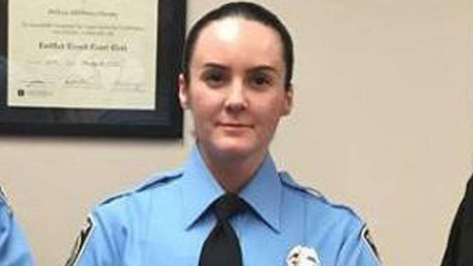 Va. officer killed on her first day on the job