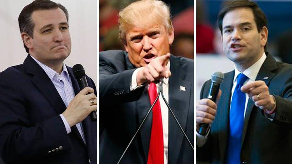 GOP candidates trade insults ahead of Super Tuesday