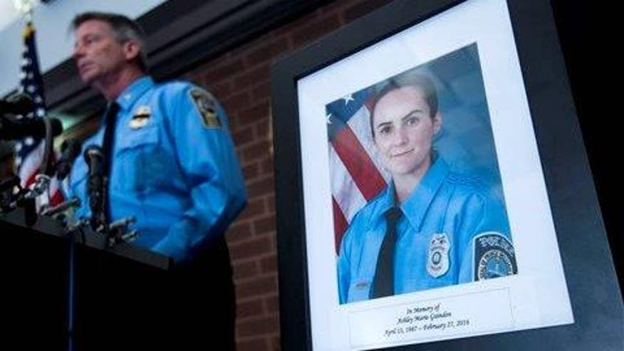 Greta's 'Off the Record' comment to 'On the Record' viewers: The tragic shooting death of rookie police officer Ashley Guindon is a reminder that our brave men and women in law enforcement put their lives on the line every single day