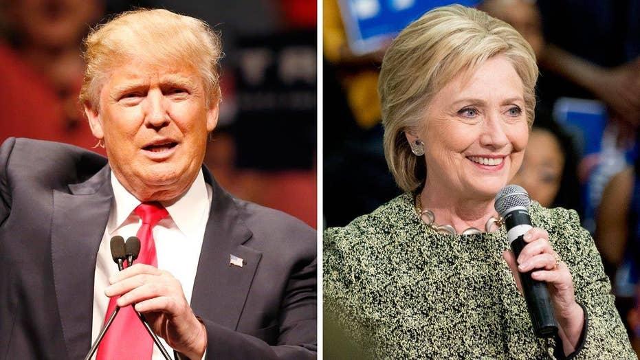 Trump, Clinton lead the polls ahead of Super Tuesday