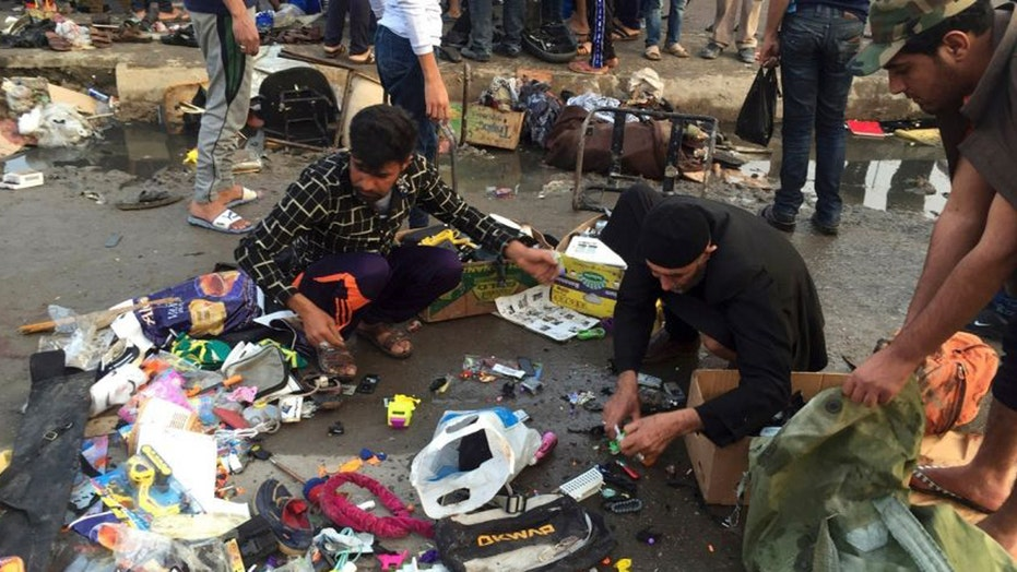 ISIS claims responsibility for deadly bombings in Baghdad