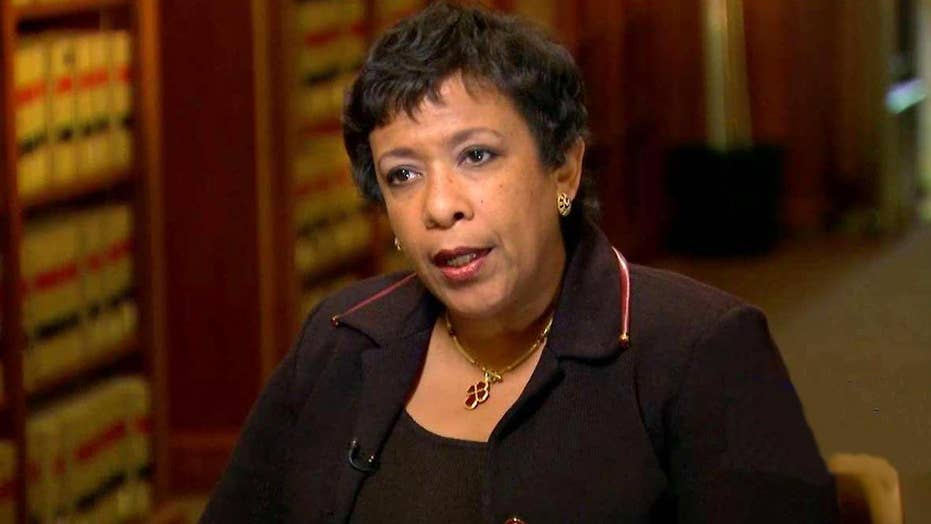 AG Lynch discusses Apple feud, Clinton probe, cybersecurity