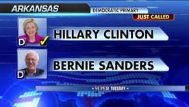 Fox News projects Hillary Clinton wins Arkansas primary